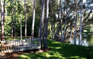 The Om Spa Zen Deck