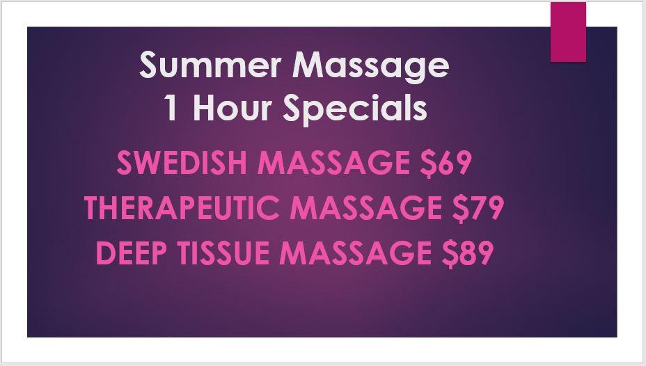 massage Specials Naples FL