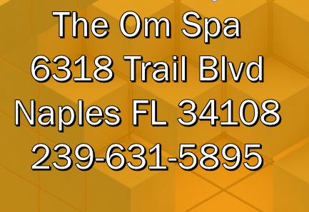 The Om Spa Naples FL Address